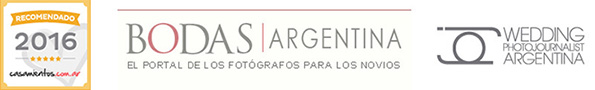 casamientos.com.ar, sello recomendados ORO,WPJAR logo, fotoperidismo de bodas Argentina, bodasargentina.com, portal de bodas argentina